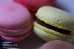 closeup of some macaroons
