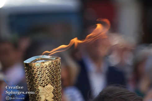 One of my favourites of the Richmond stretch, a closeup of the torch flame.