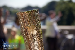 I actually really like the detail of the torch. You can see me reflected in it if you look closely.