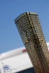 The Olympic Torch from a slightly more creative angle.