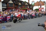 Another Spaniard flies past the White Hart crowd.