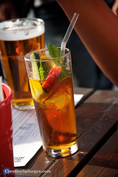 I make this Pimm's O'clock, don't you?