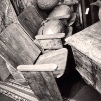 April_12__2014_at_0409PM_Antique_theatre_seats.__theatre__seats__antiques__monochrome__photography