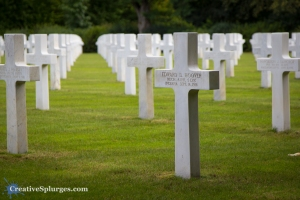 An American war grave at St Mihiel American Cemetery, France