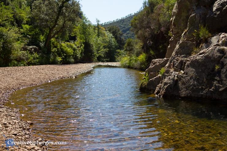 A stream in the Massif de l'Esterel, France