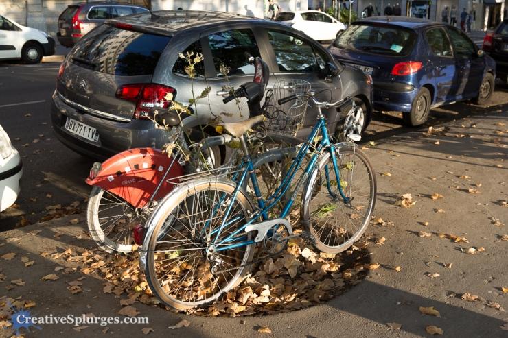Bikes in Lyon, France
