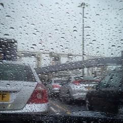 Rainy Port of Dover