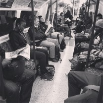 More Cheery commuters