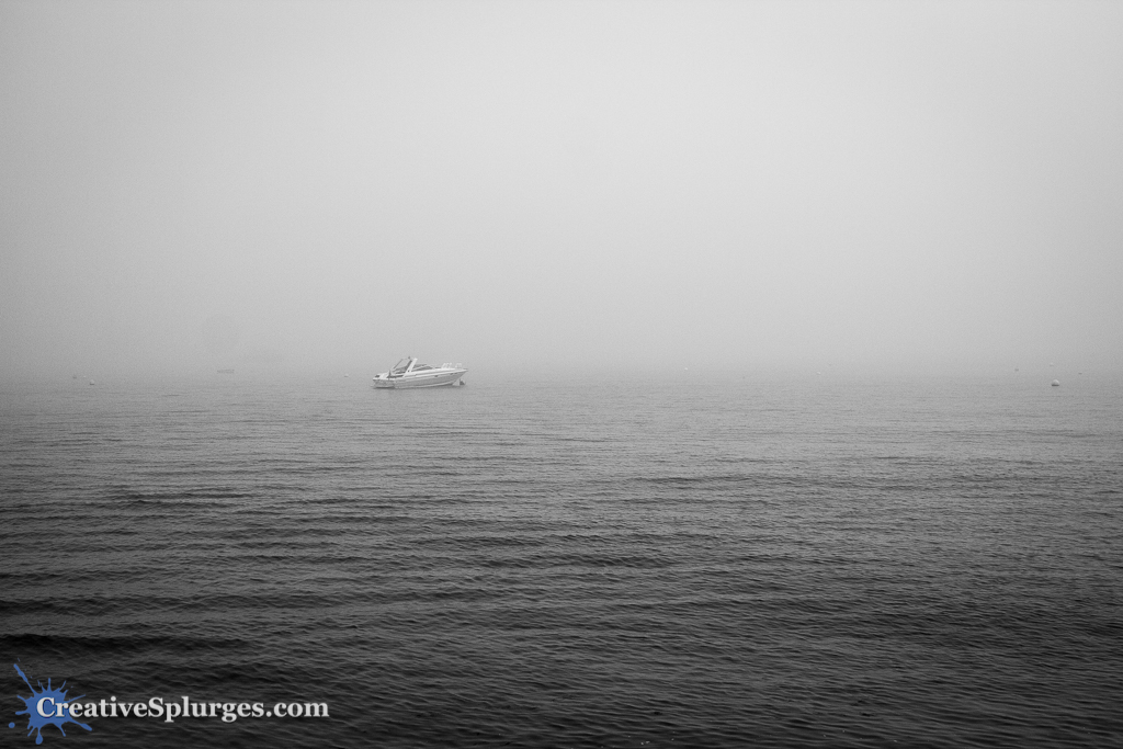 Swanage in the Mist